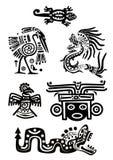 amerykańsko-indiański krajowi wzory ilustracji