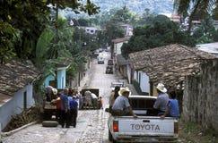 AMERYKA ŁACIŃSKA HONDURAS COPAN Obraz Royalty Free