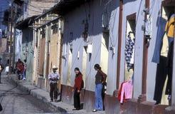 AMERYKA ŁACIŃSKA HONDURAS GARCIAS Zdjęcie Stock