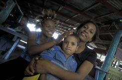 AMERYKA CARIBBIAN morza republika dominikańska Obrazy Stock