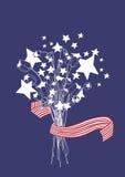 Ameryka dzień niepodległości. Zapas  Obrazy Royalty Free
