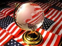 ameryka globalne Obraz Stock