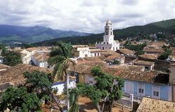 AMERYKA KUBA TRINIDAD obraz royalty free