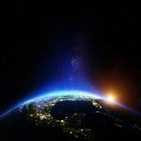 Ameryka noc Zdjęcie Royalty Free