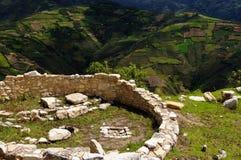 Ameryka Południowa, Peru, Kuelap obrazy stock