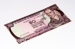 Ameryka Południowa currancy banknot Obraz Stock