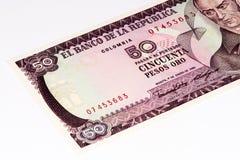 Ameryka Południowa currancy banknot Zdjęcia Stock