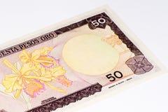 Ameryka Południowa currancy banknot Obrazy Royalty Free