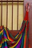 Ameryka Południowa - Majski hamak Zdjęcia Royalty Free