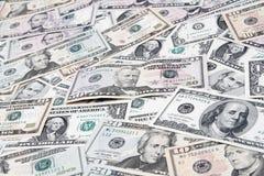 Ameryka?scy banknoty zdjęcia royalty free