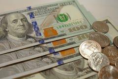 Amerykańscy Dolarowi Rachunki Zdjęcie Stock