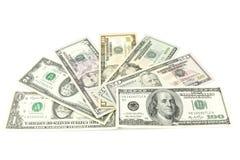 amerykańscy dolary Zdjęcia Stock