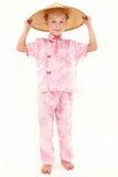 amerykańska azjatykcia ubraniowa dziewczyna Fotografia Royalty Free