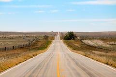 Amerykańska droga Zdjęcie Royalty Free