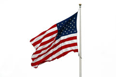 amerykańska flaga Obrazy Royalty Free