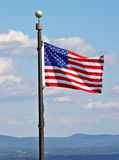 amerykańska flaga Obraz Royalty Free