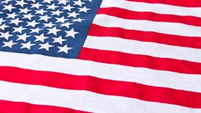 ameryka?ska flaga z bliska Flaga ameryka?skiej t?o Poj?cie patriotyzm zdjęcia royalty free