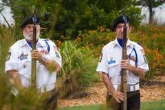 Amerykańska legia przy pogrzebem Obrazy Stock