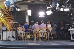 Amerykańska medialna nadawcza stacja Obraz Stock