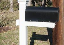 Amerykańska plenerowa metal skrzynka pocztowa Obraz Royalty Free