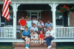 Amerykańska rodzina Zdjęcie Royalty Free