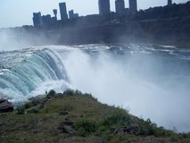 amerykańska spadek Niagara strona Fotografia Stock