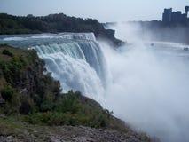 amerykańska spadek Niagara strona zdjęcie stock