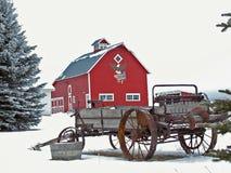 amerykańska wszystkie barn Obraz Royalty Free
