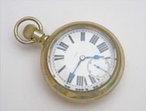 amerykański antykwarski kieszeniowy zegarek Fotografia Stock