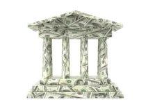 amerykański bank Obrazy Stock