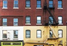 amerykański budynek Zdjęcie Royalty Free