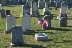 amerykański cmentarz Obraz Royalty Free
