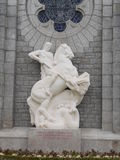Amerykański cmentarza St James Francja Obraz Royalty Free