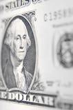 Amerykański dolarowy portret Zdjęcia Royalty Free
