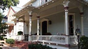 Amerykański drewniany dom Zdjęcia Royalty Free