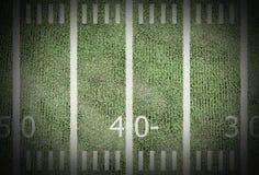 amerykański futbol pola Zdjęcie Stock
