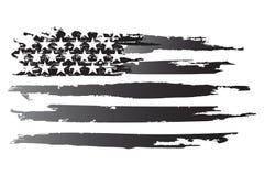 Amerykański grayscale Obrazy Royalty Free