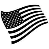 Amerykański grayscale Zdjęcie Stock