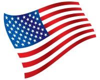 Amerykański grayscale Obraz Royalty Free