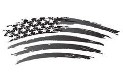 Amerykański grayscale Fotografia Royalty Free