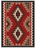 Amerykański indianina wzór Obraz Stock