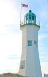 Amerykański latarni morskiej wierza Zdjęcia Stock