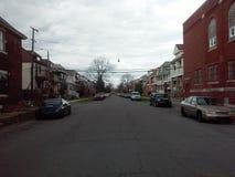 Amerykański miasto ulicy widok Zdjęcia Royalty Free