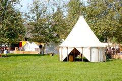 Amerykański namiot Zdjęcia Stock