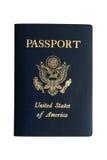 amerykański paszport Zdjęcia Royalty Free
