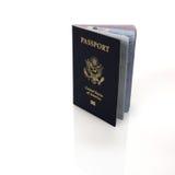 amerykański paszport Zdjęcia Stock