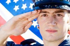 amerykański policjant Obrazy Stock
