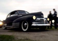 amerykański samochodowy klasyczny wjazd Obraz Stock
