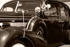 amerykański samochodowy stary rocznik Zdjęcia Royalty Free