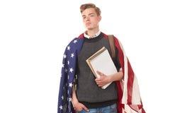Amerykański student uniwersytetu Obraz Stock
